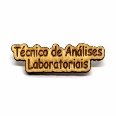 pin madeira tecnico analises laboratoriais