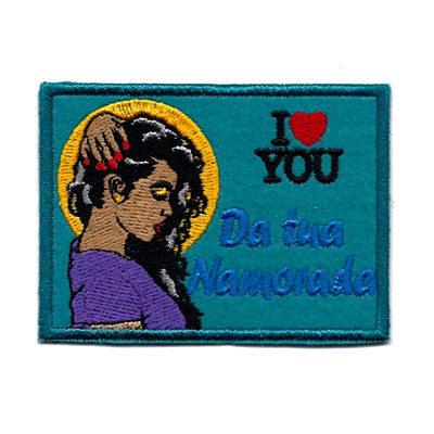 emblema da tua namorada love you