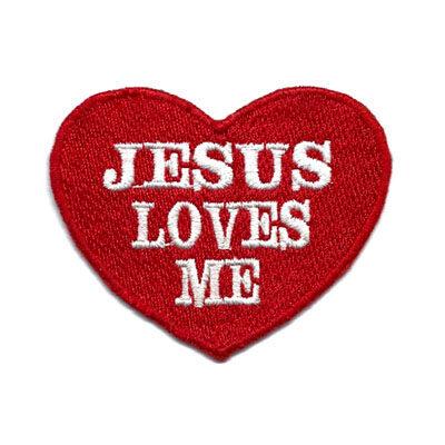 emblema jesus loves me