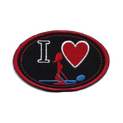 emblema oval love sex