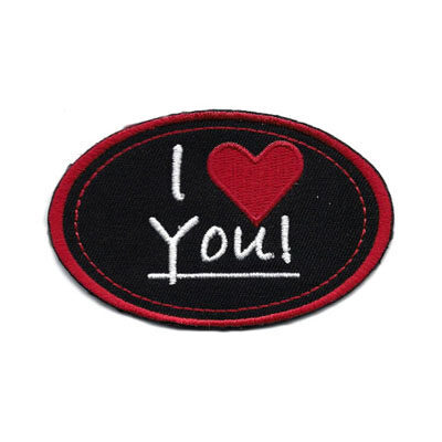 emblema oval love you