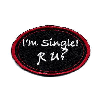 emblema oval single u