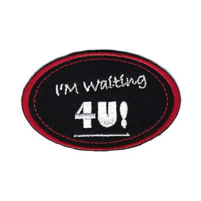 emblema oval waiting 4u