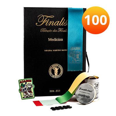 kit finalista 100fitas