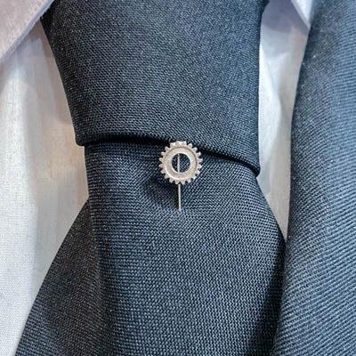 alfinete gravata engenharia foto
