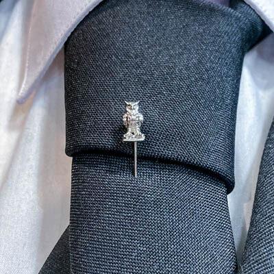alfinete gravata letras foto