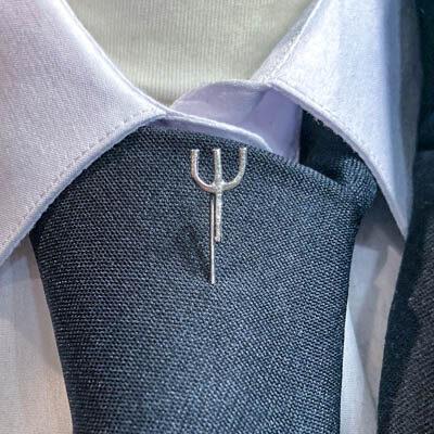 alfinete gravata psicologia foto