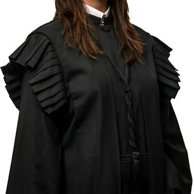 beca magistratura feminina pormenor copitraje