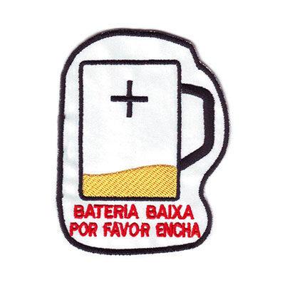 emblema cerveja bateria