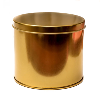 lata grande dourada