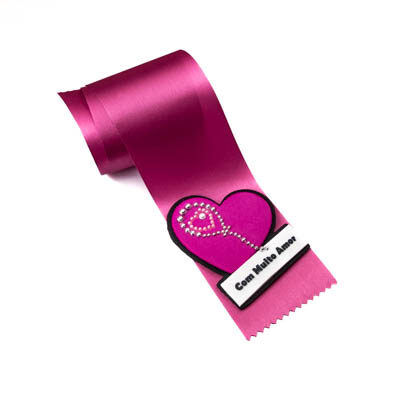 alfineteira coracao rosa muito amor