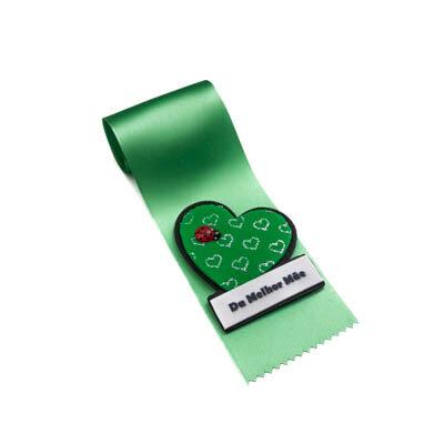 alfineteira coracao verde melhor mae