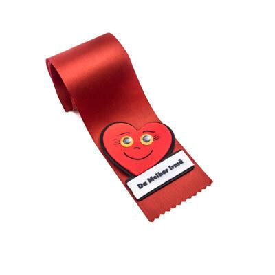 alfineteira coracao vermelho melhor irma