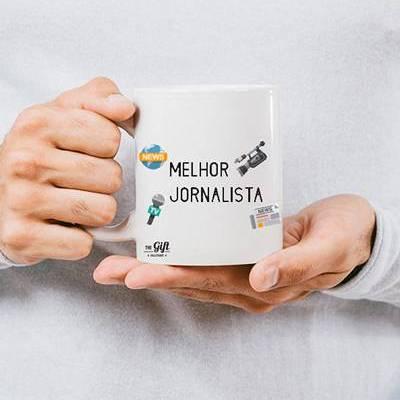 caneca jornalista