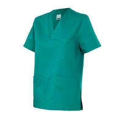 camisola saude bolsos verde